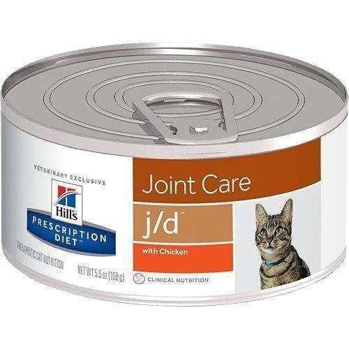 Hill's Prescription Diet Feline J / D Burkmat 24x156g