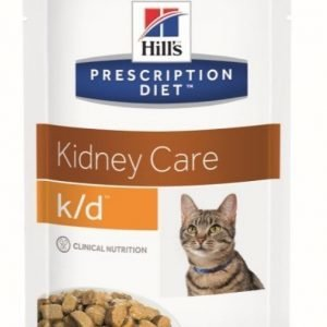 Hill's Prescription Diet Feline K / D Beef 12x85g Pouch