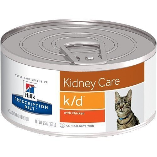 Hill's Prescription Diet Feline K / D Burkmat 24x156g