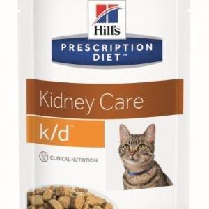 Hill's Prescription Diet Feline K / D Chicken 12x85g