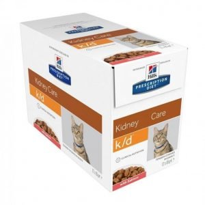 Hill's Prescription Diet Feline K / D Salmon 12x85g