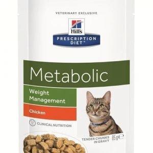 Hill's Prescription Diet Feline Metabolic 12x85g