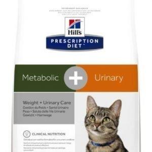 Hill's Prescription Diet Feline Metabolic + Urinary 4kg