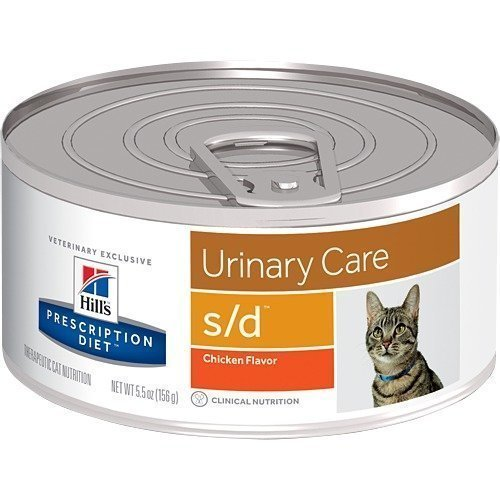 Hill's Prescription Diet Feline S / D Burkmat 24x156g