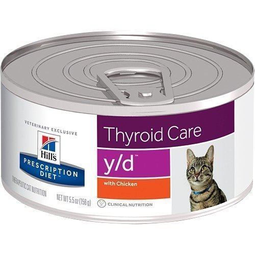 Hill's Prescription Diet Feline Y / D Burkmat 24x156 G