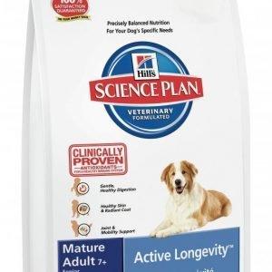 Hill's Science Plan Canine Mature Adult 7+ Active Longevity Lamb & Rice 12kg