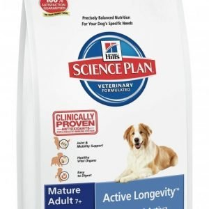 Hill's Science Plan Canine Mature Adult 7+ Active Longevity Medium 12kg