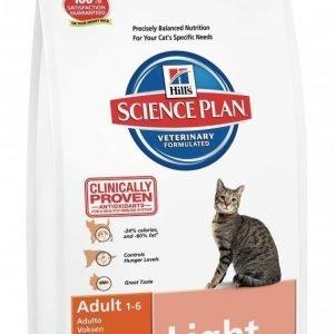 Hill's Science Plan Feline Adult Light Chicken 10 Kg