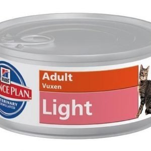 Hill's Science Plan Feline Adult Light Paté 24x85g