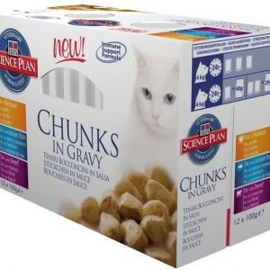 Hill's Science Plan Feline Adult Multipack 12x85g
