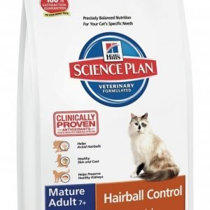 Hill's Science Plan Feline Hairball Control Mature / Senior 5 Kg