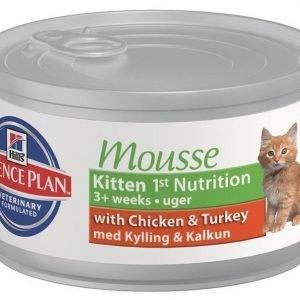 Hill's Science Plan Feline Kitten 1st Nutrition Mousse 24x85g