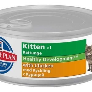 Hill's Science Plan Feline Kitten Chicken Paté 24x85g