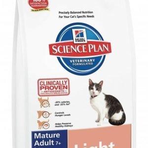 Hill's Science Plan Feline Light Mature Adult 7+ Chicken 1