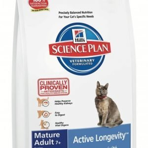 Hill's Science Plan Feline Mature Adult / Senior 7+ Tuna 2kg