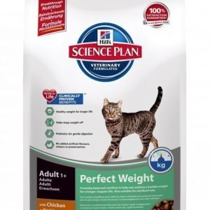 Hill's Science Plan Feline Perfect Weight Chicken 3 Kg