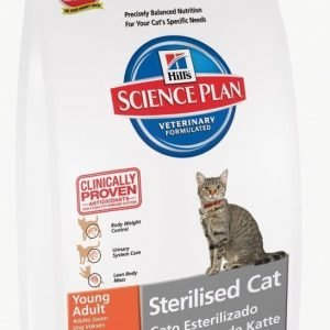 Hill's Science Plan Feline Sterilized Cat Young Adult Tuna 3
