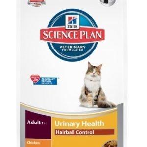 Hill's Science Plan Feline Urinary Health Hairball Chicken 3kg