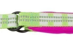 Hurtta Lifeguard Halvstryp Halsband Rosa / Kiwi 55 65cm
