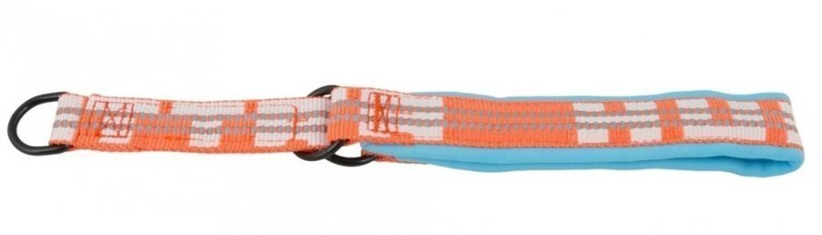 Hurtta Lifeguard Halvstryp Halsband Turkos / Orange 40 50cm