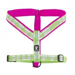 Hurtta Lifeguard Vadderad Y Sele Rosa / Kiwi 60cm