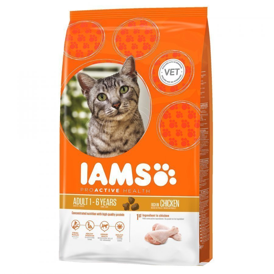 Iams Cat Adult Chicken 10kg