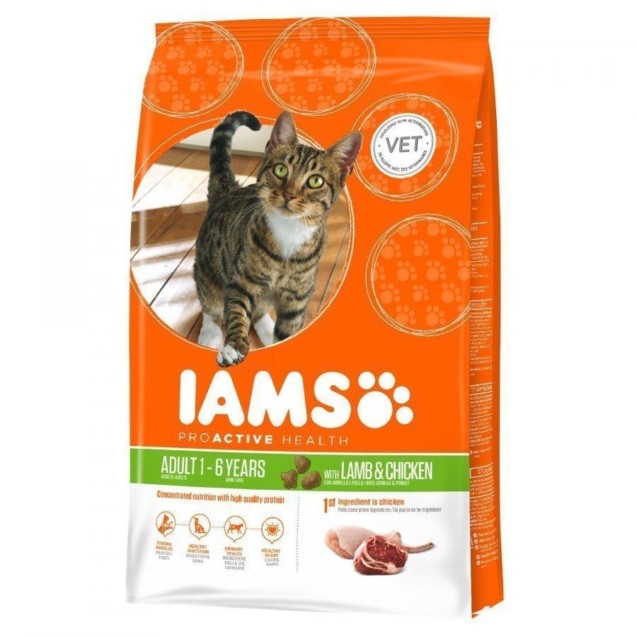 Iams Cat Adult Lamb & Chicken 10 Kg
