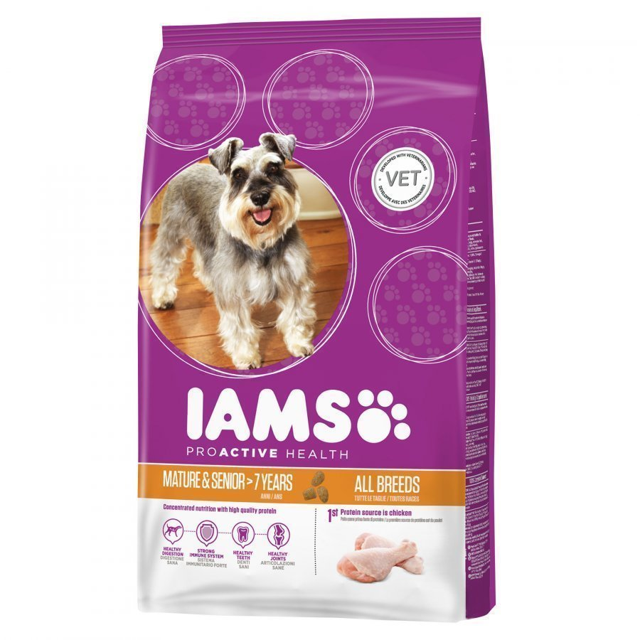 Iams Dog Mature & Senior 12kg