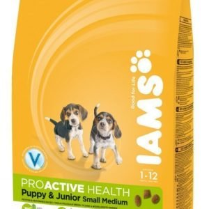 Iams Puppy & Junior Small / Medium 12kg