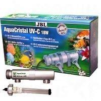 JBL AquaCristal UV-C Water Clarifier Series II - 18 W korkeintaan 400-litraisille akvaarioille tai 1800-litraisille lammikoille