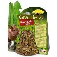 JR Farm Grainless Hay Bell Hibiscus - säästöpakkaus: 2 x 1 kpl