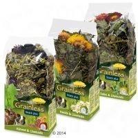 JR Farm Grainless Snack Plus -paketti - setti: 3 tuotetta (300 g)