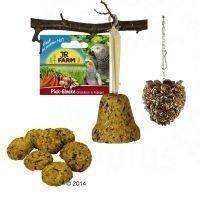 JR Farm -paketti afrikan- ja australiankaijoille - 3-osainen (435 g)