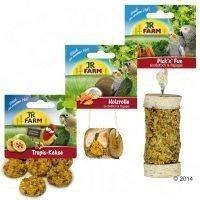JR Farm -paketti undulaateille ja kanarialinnulle - setti: 3 tuotetta (365 g)