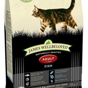 James Wellbeloved Kort Datum James Wellbeloved Cat Fish Adult 10 Kg