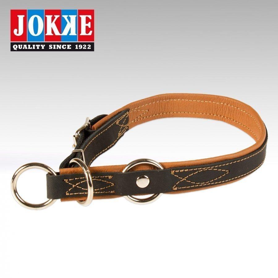 Jokke Boa Halvstryp Halsband Svart 65 75 Cm / 25 Mm