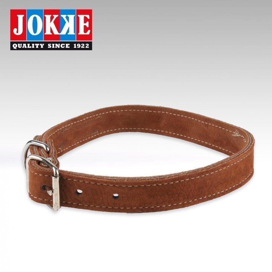 Jokke Rancher Halsband Brun 35 40cm