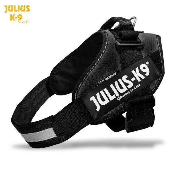Julius K9 Idc Powerharness Musta