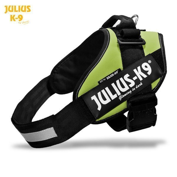 Julius K9 Idc Powerharness Neonvihreä