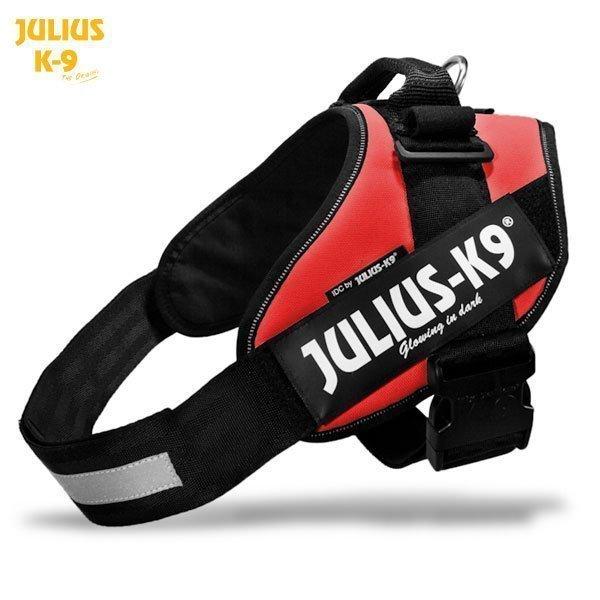 Julius K9 Idc Powerharness Punainen