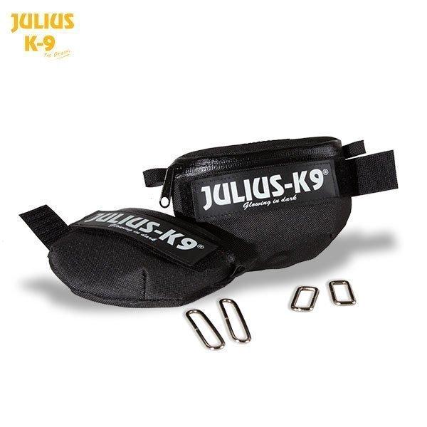Julius K9 Idc Universal Sivulaukku Musta 2 Kpl / Pakk.