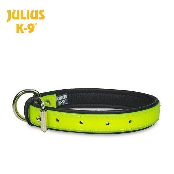 Julius K9 Utgående K9 Idc Lumino Halsband. Självlysande Neon. 70 Cm
