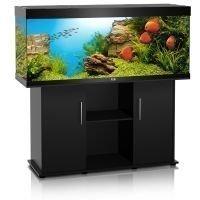 Juwel Rio 400 -akvaario + akvaariokaappi - tummanruskea