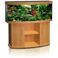 Juwel Vision 450 -akvaario + akvaariokaappi - tummanruskea