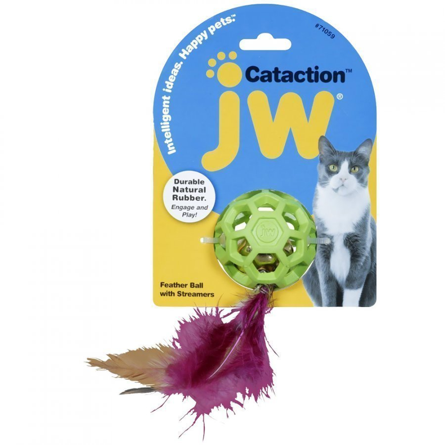 Jw Cataction Feather Ball 12 St