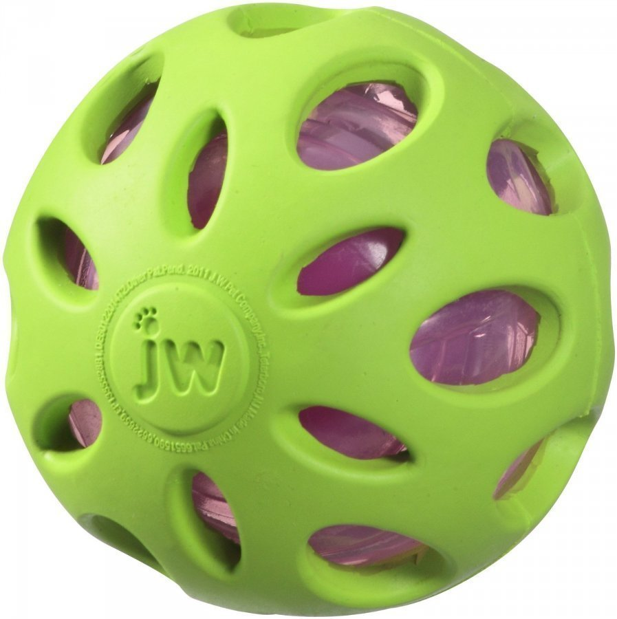 Jw Crackle Heads Crunchy Ball