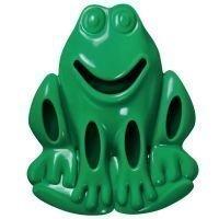 KONG Quest Critter Frog - L: P 15 x L 3 x K 4 cm
