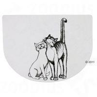 Kaksi kissaa -ruoka-alusta - 40 x 30 cm