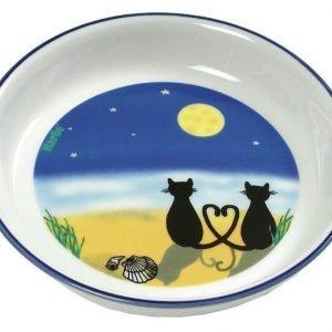 Karlie Keraaminen Kuppi Kissa & Kuu 16 Cm