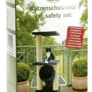 Karlie Parvekeverkko Cat Safety Net Musta 2 X 4 M